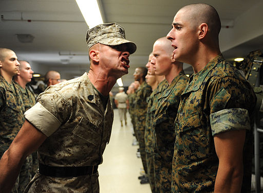 512px-Drill_instructor_at_the_Officer_Candidate_School